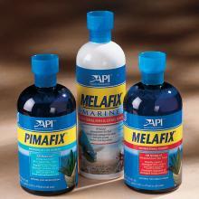 Aquarium Pharmaceuticals - Pimafix & Melafix   Aquarium Space